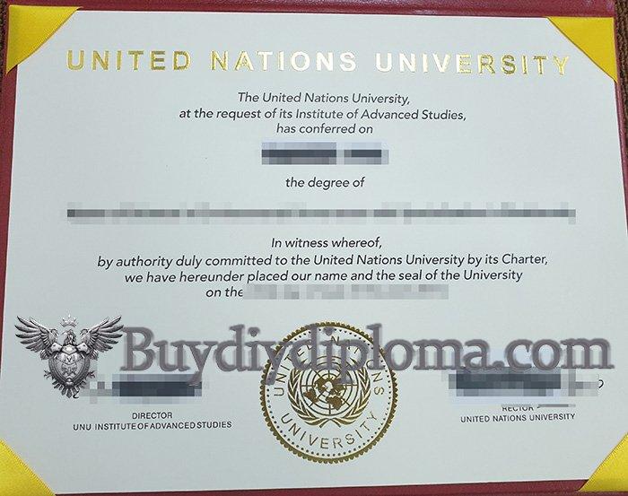 fake United Nations University diploma, buy United Nations University degree,