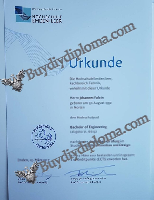 University of Applied Sciences diploma2