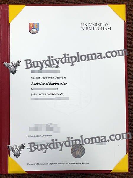 Get University of Birmingham Fake Diploma?