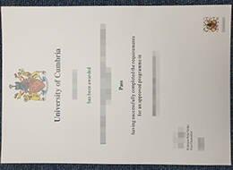 University of Cumbria fake degree