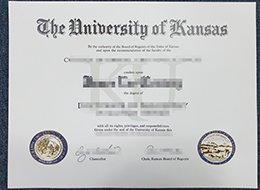 University of Kansas diploma