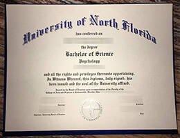 University of North Florida fake diploma