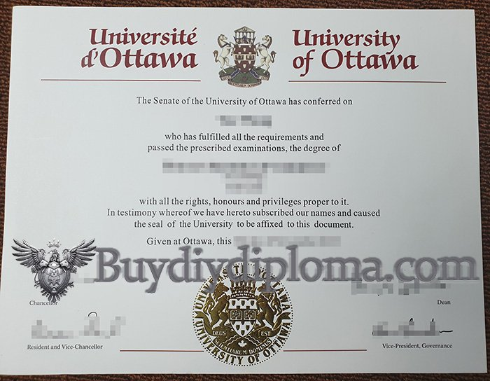 fake University of Ottawa diploma, buy University of Ottawa degree