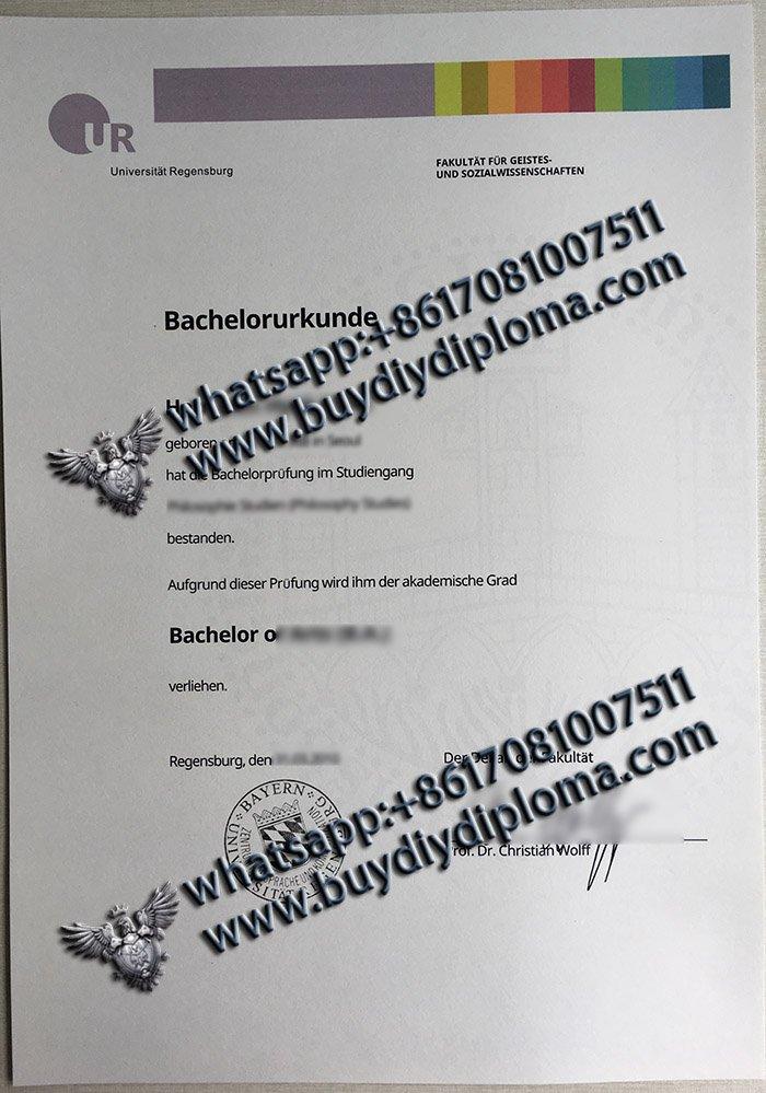 fake Universität Regensburg urkunde, buy University of Regensburg diploma, fake bachelorurkunde,
