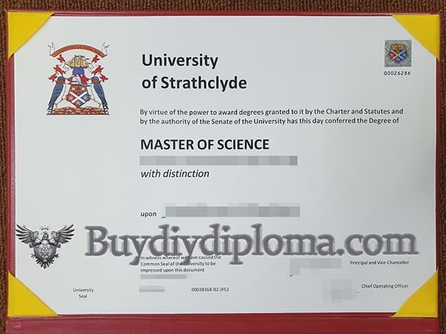 University of Strathclyde fake diploma