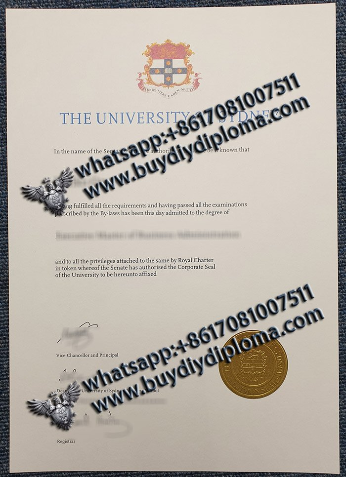 Simple tips to order fake University of Sydney diploma