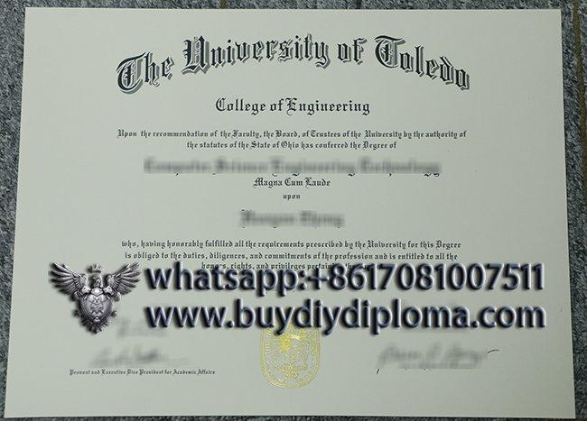University of Toledo diploma