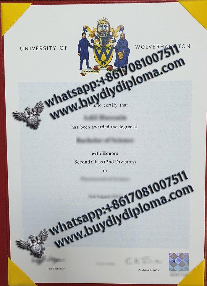 Brilliant way to get a fake University of Wolverhampton degree