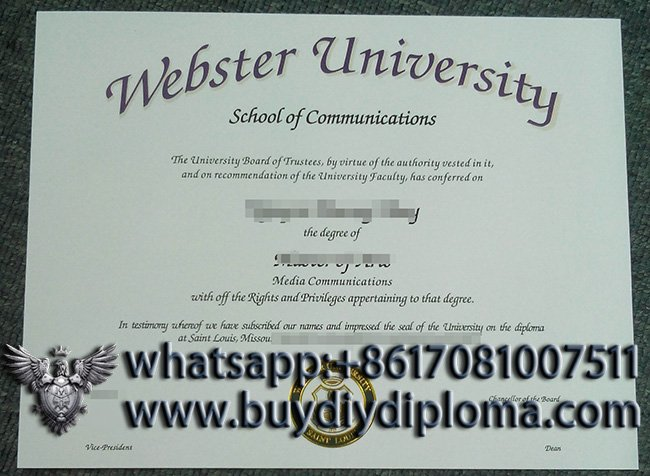 How to buy a copy of Webster University diploma online