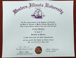 Western Illinois University fake diploma