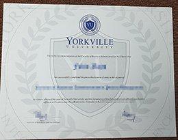 fake Yorkville University diploima, buy Yorkville University degree,
