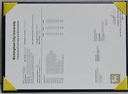 Birmingham City University degree