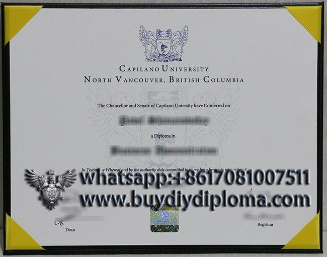 buy a fake Capilano University diploma in Canada