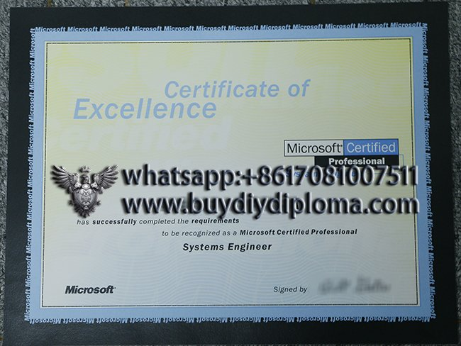 get a fake Certificate Of Excellence online