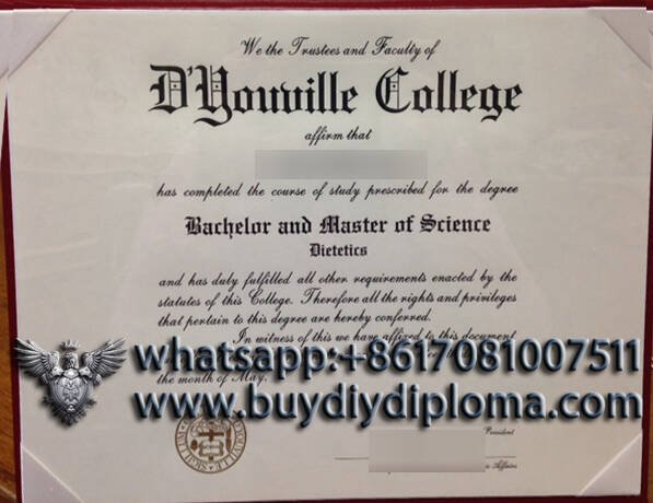 fake D Youville college diploma