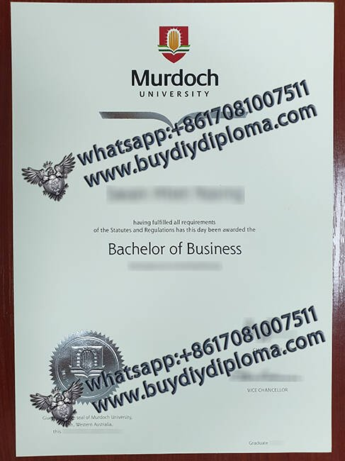 fake Murdoch UNIVERSITY diploma