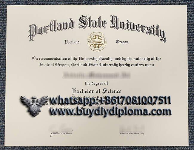 Portland State University fake diploma Online