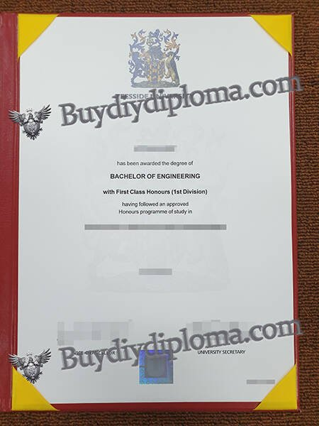 Buy Teesside University Fake degree Certificate
