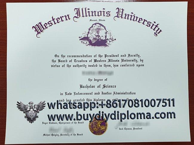 Get Your Western Illinois University Fake Diploma