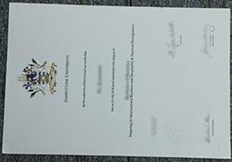 James Cook University diploma