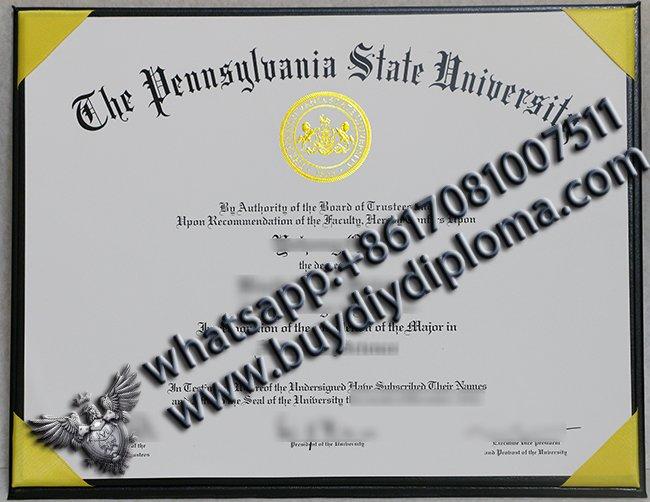 Buy Pennsylvania State University diploma, make PSU degree online