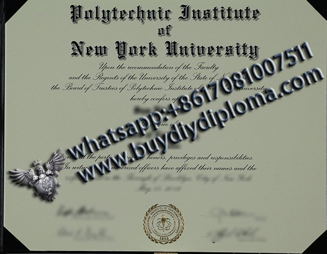 Polytechnic Institute of New York University Diploma, Buy fake diploma in the US