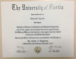 university of florida diploma