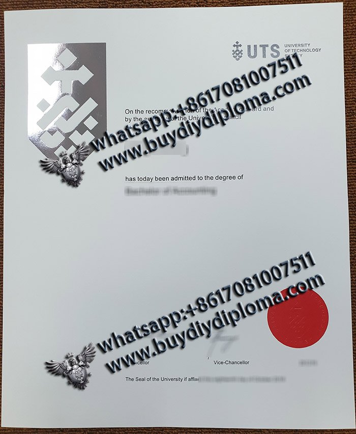 buy University of Technology Sydney diploma, fake UTS degree, fake Australia degree,