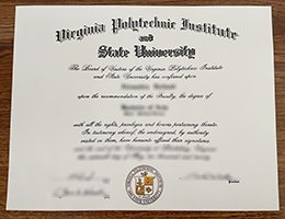 Virginia Tech diploma, VPI degree