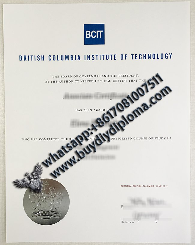 BCIT-Diploma