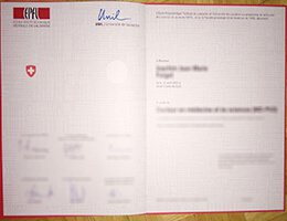 EPFL Certificate