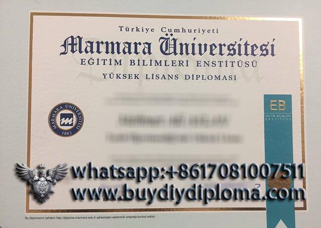 İstanbul Marmara Üniversitesi diploma, Buy Turkiye Diploma online