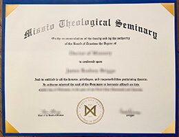 Missio Theological Seminary Diploma1