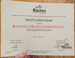 Roches-Switzerland-Diploma