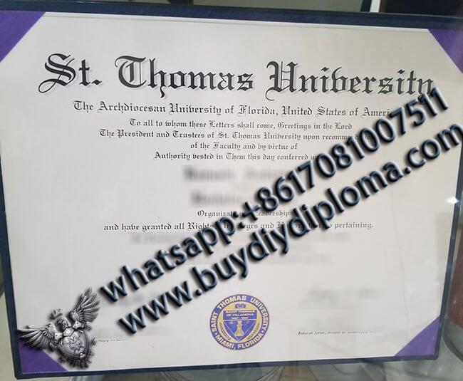 St.-Thomas-University-Diplomas