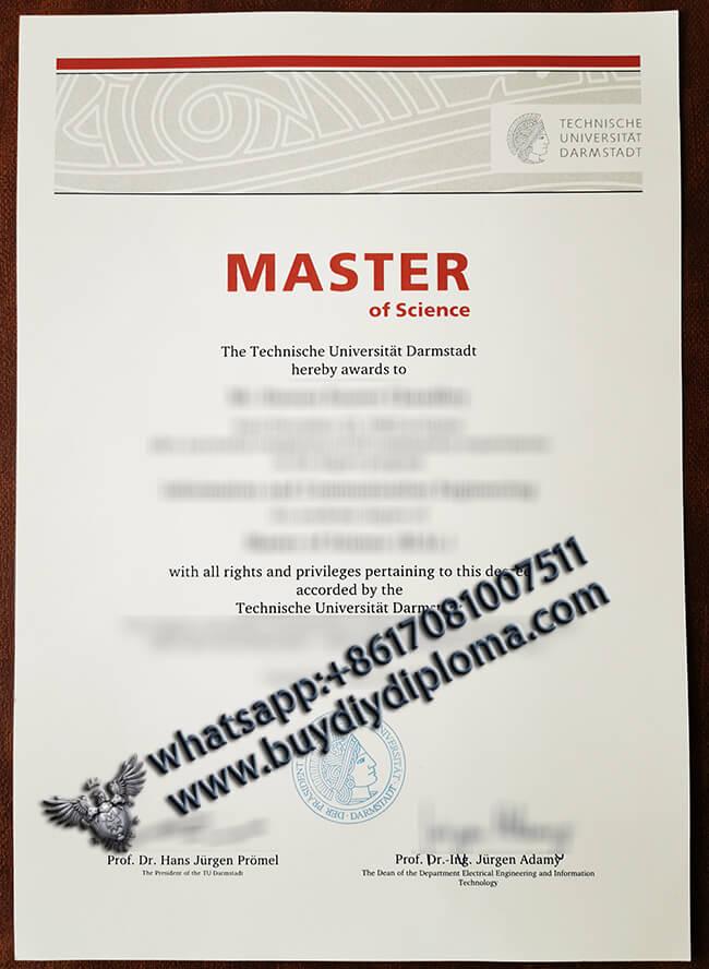 TECHNISCHE UNIVERSITAT DARMSTADT DIPLOMA BUY FAKE MASTER CERTIFICATE FROM GERMANY
