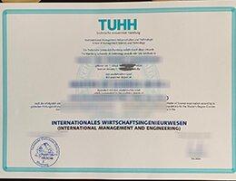 TUHH Certificate
