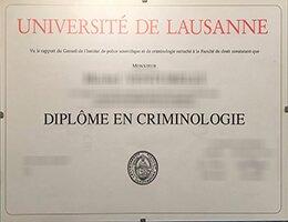 Universite de Lausanne diplome