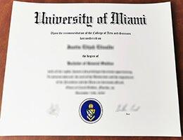University-of-Miami-Diploma