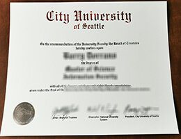 city-university-of-seattle-diploma