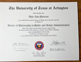 uni-of-Texas-at-Arlington-Diploma