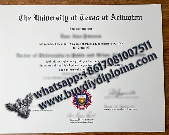 Buy Fake University of Texas at Arlington Diploma Online, Buy Fake Degree