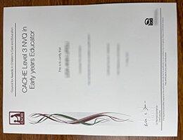 CACHE-certificate