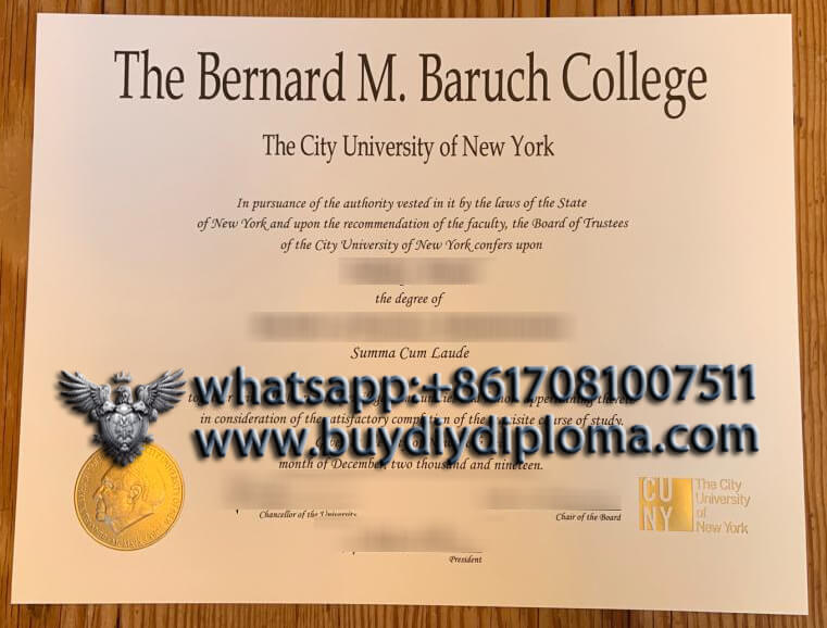 Baruch-College-Diploma