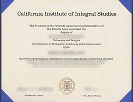 CIIS degree