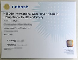 how to make a fake Nebosh certificate