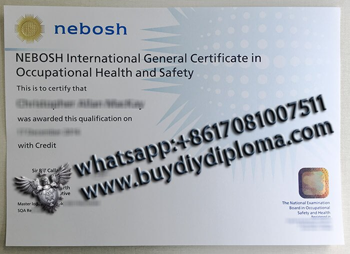 Fake IGC Nebosh certificate for sale, how to get a Nebosh certificate fast