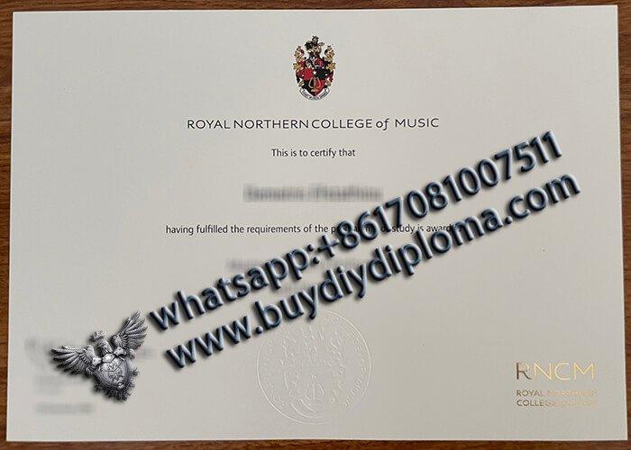 Royal Northern College of Music Diploma