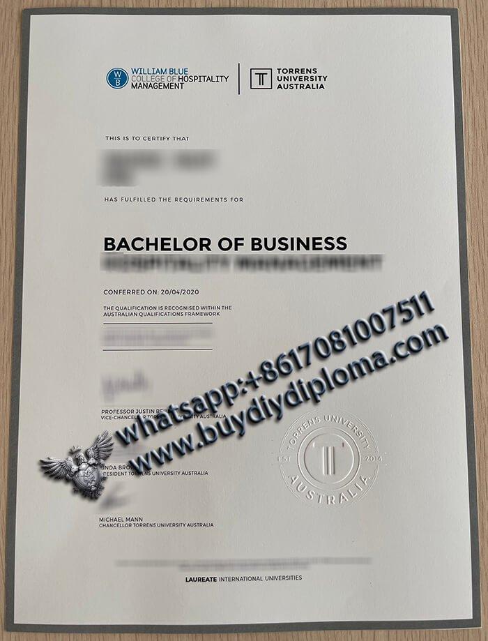 buy a Torrens University Australia Business Diploma