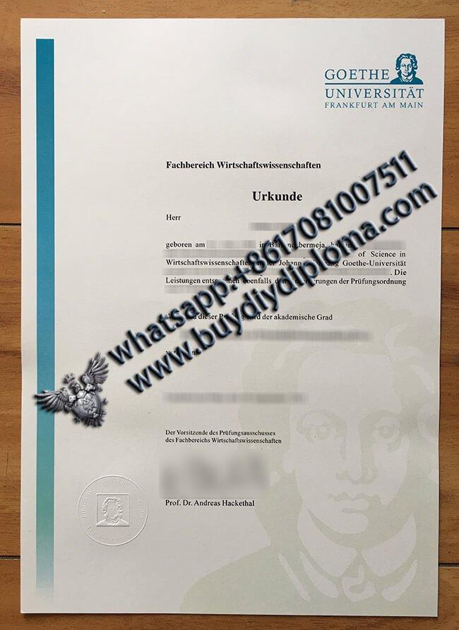 University-of-Frankfurt-degree
